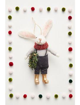 Rabbit Farmer Decoration by Anthropologie