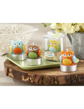 Whooo's The Cutest Baby Owl Unscented Novelty Candle by Kate Aspen
