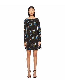 Nettare Floral Long Sleeve Dress by Sportmax