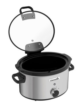 Crock Pot Stainless Steel Slow Cooker by Next