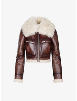Bomber Corto In Shearling by Givenchy