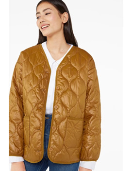 Quilted Liner Jacket by Monki