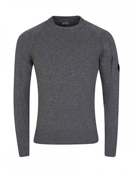 C.P. Company Olive Green Knit Jumper by C.P. Company