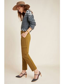 The Essential Knit Cargo Pants by Essentials By Anthropologie
