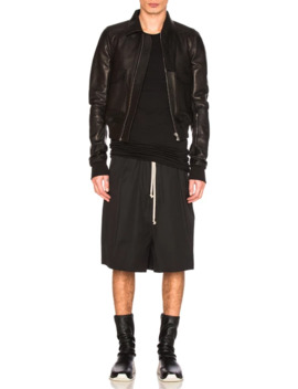 Rick Owens Megashorts   Black   New With Tags   Ss17 Walrus by Rick Owens  ×