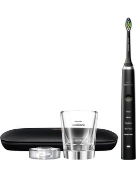 Diamond Clean Classic Rechargeable Toothbrush   Black by Philips Sonicare