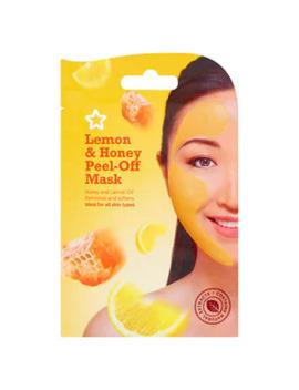 Superdrug Honey & Lemon Peel Off Face Mask by Superdrug