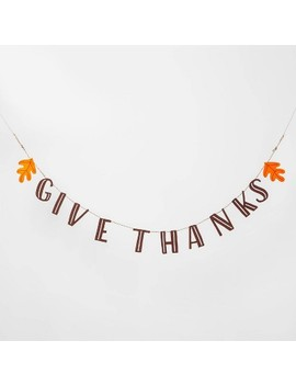 "<Span><Span>Give Thanks Garland Banner   Spritz</Span></Span><Span Style=""Position: Fixed; Visibility: Hidden; Top: 0px; Left: 0px;"">…</Span> by Spritz…"