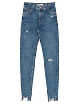 Low Waist   Jeans Skinny Fit by Bershka