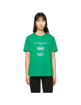 Green Spirit T Shirt by Givenchy
