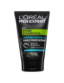 L'oreal Men Expert Charcoal Scrub 100ml by Superdrug