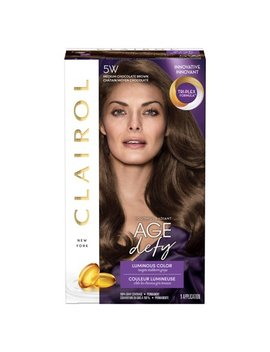 Clairol Age Defy Expert Collection Hair Color, 5 W Medium Chocolate Brown by Clairol