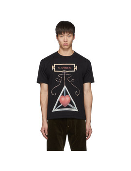 Black 'suspirium' T Shirt by Undercover