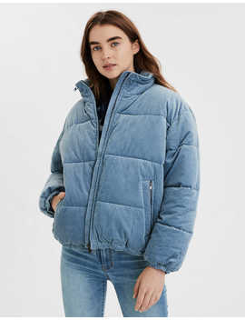 Ae  Corduroy Puffer Jacket by American Eagle Outfitters