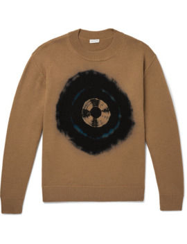 Tie Dyed Merino Wool Sweater by Dries Van Noten