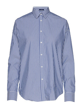 D1. Tp Bc Striped Oversized Shirt by Gant