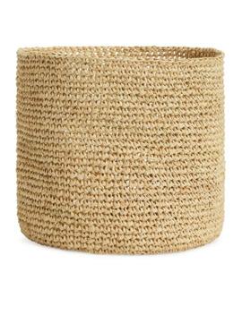 Afroart Raffia Basket by Arket