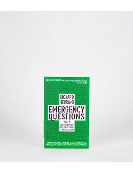 Black Emergency Questions Book by New Look