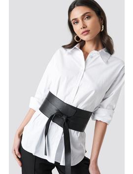 Front Knot Waist Belt Svart by Na Kd Accessories