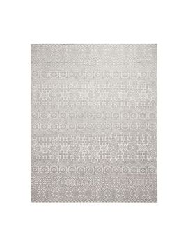 Arelle Hand Knotted Rug   Gray by Pottery Barn