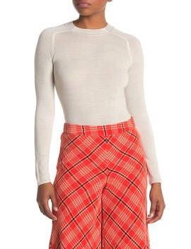 Pamela Crew Neck Wool Sweater by Rag & Bone
