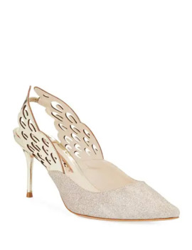 Sophia Webster Angelo Mid Slingback Pumps by Sophia Webster
