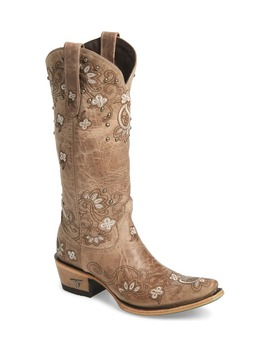 Sweet Paisley Embroidered Western Boot by Lane Boots