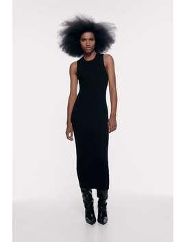 Vestito Lungo A Costine by Zara