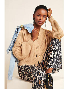 Sussex Cropped Cardigan by Line & Dot