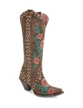 Wild Stitch Embroidered Boot by Lane Boots