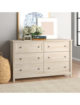 Lamantia 6 Drawer Double Dresser by Three Posts