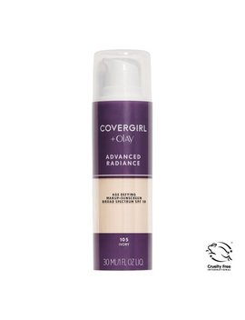 Covergirl Advanced Radiance Age Defying Liquid Foundation, 105 Ivory by Covergirl