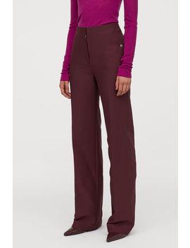 Панталон с прави крачоли by H&M