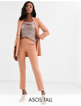 Asos Design Tall Mix &Amp; Match Cigarette Grazer Suit Trousers by Asos Design