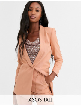 Asos Design Tall Mix &Amp; Match Tailored Suit Blazer by Asos Design