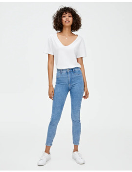 Yüksek Bel Skinny Jean by Pull & Bear