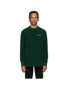 Green Fleece Sweatshirt by AimÉ Leon Dore