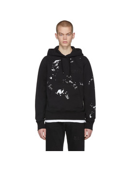 Black Standard Painter Hoodie by Helmut Lang