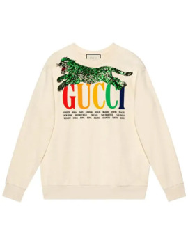 толстовка 'gucci Cities' by Gucci