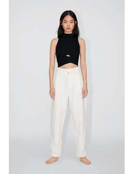 Jeans Med Fem Lommer by Zara