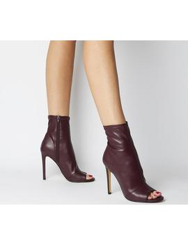 Aware Dressy Peep Toe Boots by Office