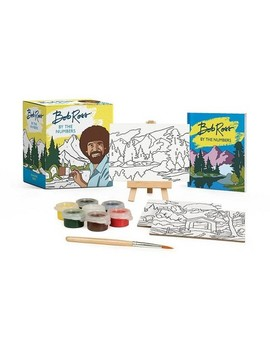 Bob Ross By The Numbers   (Rp Minis) By Bob Ross & Robb Pearlman (Paperback) by Target