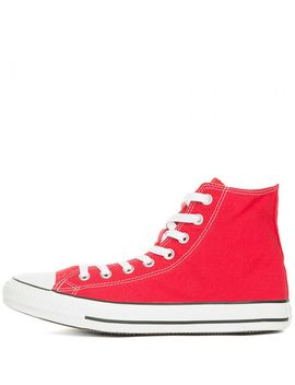 Mens All Star Hi Red by Converse
