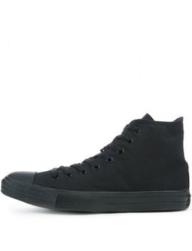 Mens All Star Hi Black/Black by Converse
