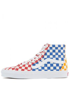 Sk8 Hi Checkerboard Multi/True White by Vans