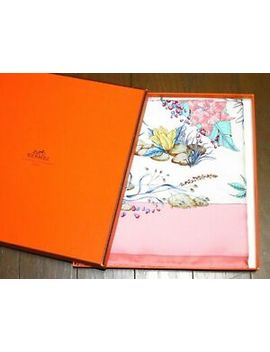 Mnt Auth Hermes Carre Scarf 90 Pythagore 100% Silk Pink France by Hermes