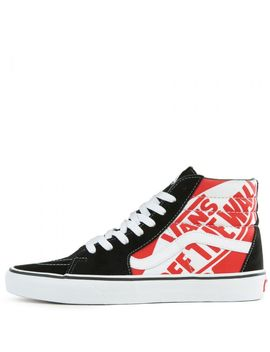 Sk8 Hi Heel Scab/Black/True White by Vans
