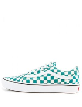 Comfycush Old Skool Checker Quetzal/True White by Vans