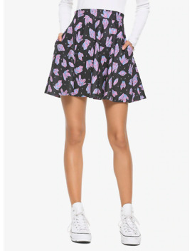 Pastel Crystals Skater Skirt by Hot Topic