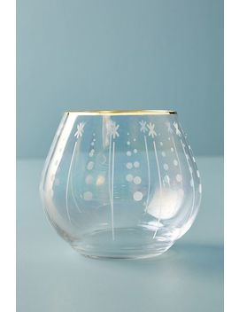 Set Of 4 Trudie Stemless Wine Glasses by Anthropologie